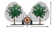 Опрыскиватель прицепной садовый вентиляторный  JET FRUIT 2000л